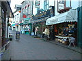 SS7249 : Village Inn and shops in Lynmouth by Robin Lucas