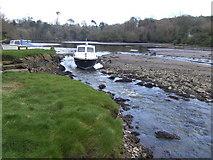 SW7724 : Moored fishing boat by Jonathan Billinger