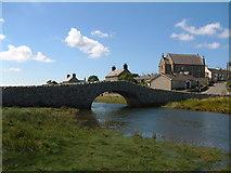 SH3568 : Aberffraw bridge by Jeff Tomlinson