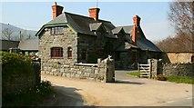 SH7770 : Caerhun Farm by Alan Walker