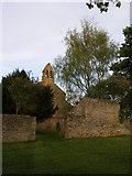 NZ3231 : The church at Bishop Middleham by Carol Rose
