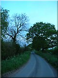 SE6548 : Lane from White House Farm by DS Pugh