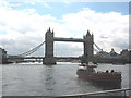 TQ3380 : Tower Bridge from the Thames by Pauline E