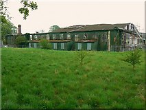 SU0571 : Derelict hangar, Yatesbury by Brian Robert Marshall