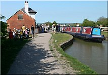 SP6989 : At the top of Foxton Locks by Mat Fascione