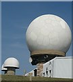 NS8810 : Aircraft tracking station on Lowther Hill by Eileen Henderson