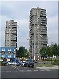 TQ2976 : Westbury Estate, Wandsworth Road, SW8 by Danny P Robinson