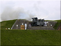 SU6007 : Artillery in action Fort Nelson by Chris Gunns