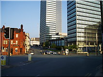 SJ8499 : Corporation Street joins the Ring Road by R Greenhalgh