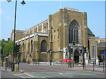 TQ3179 : St George's Cathedral, Southwark by Danny P Robinson
