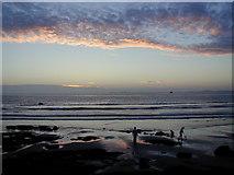 SM8513 : Little Haven beach at dusk by Chris Gunns