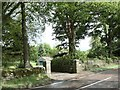 NO2437 : Entrance drive by James Allan