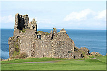 NS2515 : Dunure Castle. by John McLeish
