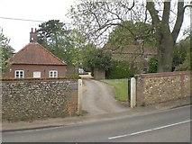 TF7633 : Church Farm, Bircham Newton by Nigel Jones