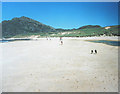 NR4098 : Traigh Ban, Kiloran Bay beach and dunes, Colonsay by Pauline E