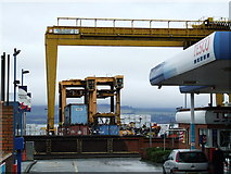 NS2776 : Container handling machines by Thomas Nugent