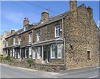 SE2333 : Terraced Housing - Hough Side Road by Betty Longbottom