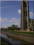 TF3244 : River Haven and Boston Stump by Graham Horn