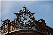J3374 : Former Anderson & McAuley's, Belfast (detail) by Albert Bridge