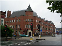 TQ4085 : Forest Gate Police Station by Danny P Robinson
