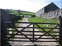 SD8167 : Footpath from Little Stainforth to Feizor by John S Turner