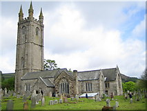 SX7176 : Widecombe-in-the-Moor: Church of St Pancras by Nigel Cox