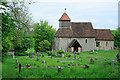 SU5027 : St Andrew's Church, Chilcomb by Peter Facey