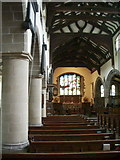 SD6592 : Interior of The Parish Church of St Andrew, Sedbergh by Alexander P Kapp