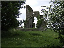 N3679 : Cistercian Abbey ruins, Abbeylara by Jonathan Billinger