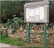SP5036 : King's Sutton noticeboard by Duncan Lilly