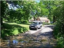 TL2966 : Ford at Hilton by Trevor Alder