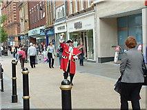 SO8554 : Worcester High Street by Derek Bradley