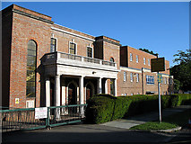 TQ2688 : Hampstead Garden Suburb United Synagogue by Martin Addison