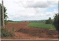 SO5626 : Felindre to Tirley pipeline works SE of Pict's Cross by Pauline E