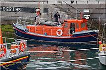 J5980 : Former lifeboat at Donaghadee by Albert Bridge