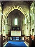 SD3676 : Interior of The Parish Church of St John the Baptist, Flookburgh by Alexander P Kapp