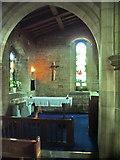 SD3676 : Side chapel, The Parish Church of St John the Baptist, Flookburgh by Alexander P Kapp