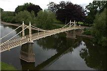 SO5139 : Victoria Bridge, Hereford by Philip Halling