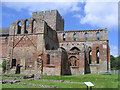 NY5563 : Lanercost Priory, ruined chancel by Stephen Craven