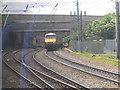 NZ2462 : GNER train, Bensham Junction by Stephen Craven