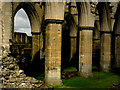 SE5784 : Rievaulx Abbey by Chris Gunns