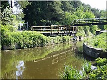 ST8160 : Barton Farm swing bridge by Graham Horn