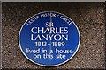 J3374 : Lanyon plaque, Wellington Place, Belfast by Albert Bridge