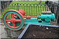 SD8010 : Steam engine, Bury Town Centre by Chris Allen