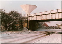 SE6912 : Railway Bridge over road on Southend by Siobhan Brennan-Raymond