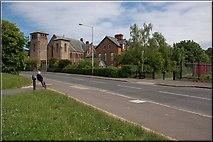 J3673 : Site of Bloomfield station, Belfast by Albert Bridge