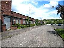 NS3978 : Strathleven Industrial Estate by Eddie Mackinnon