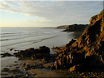 SM8513 : Looking northeast from Little Haven Point by Chris Gunns