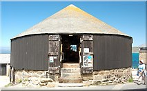SW3526 : The Round House, Sennen Cove by Mari Buckley