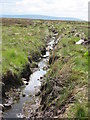NY7160 : Drainage channel on Cairn End by Mike Quinn